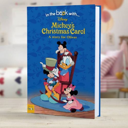 Personalised Disney Mickey's Christmas Carol